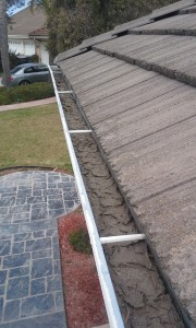 CSUSA Gutter clean-Before-Oxnard