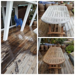 Wood deck cleaning- Softwash vs. pressure wash